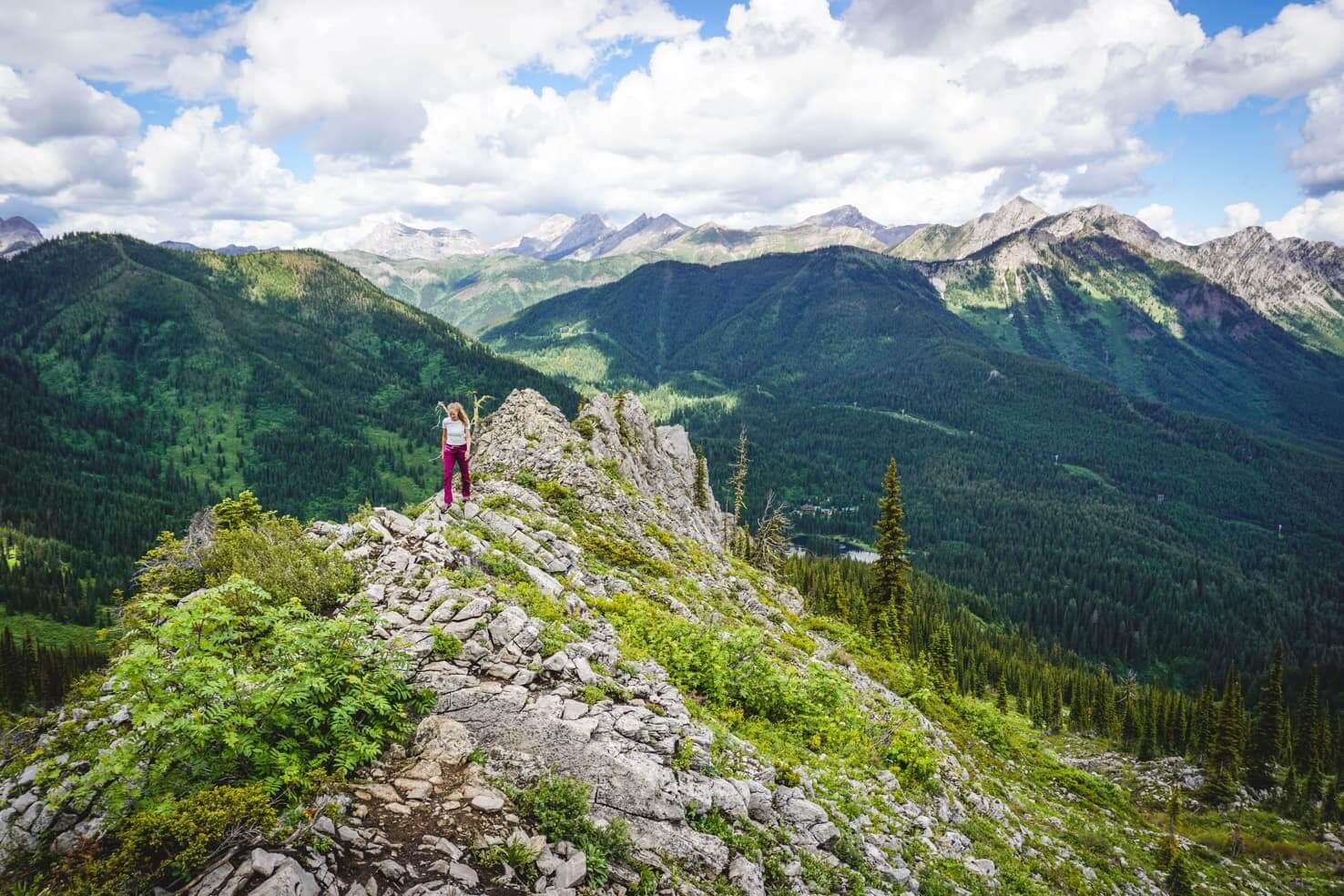 Canadian Rockies road trip itinerary - Fernie in British Columbia