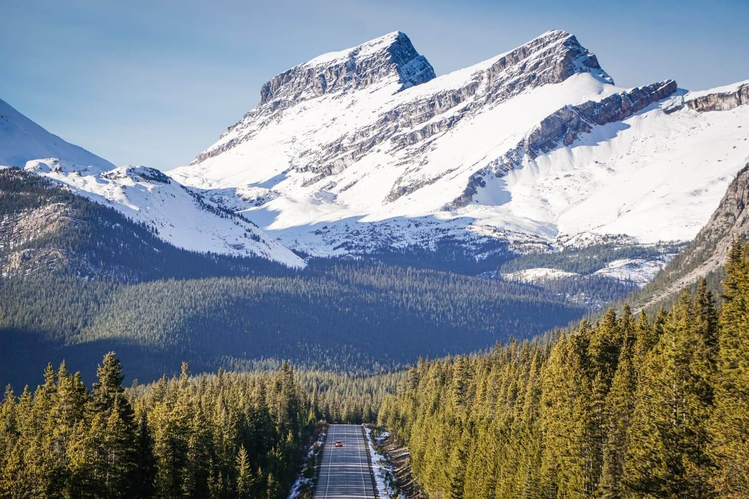 Canadian Rockies road trip itinerary - Icefields Parkway, Jasper National Park