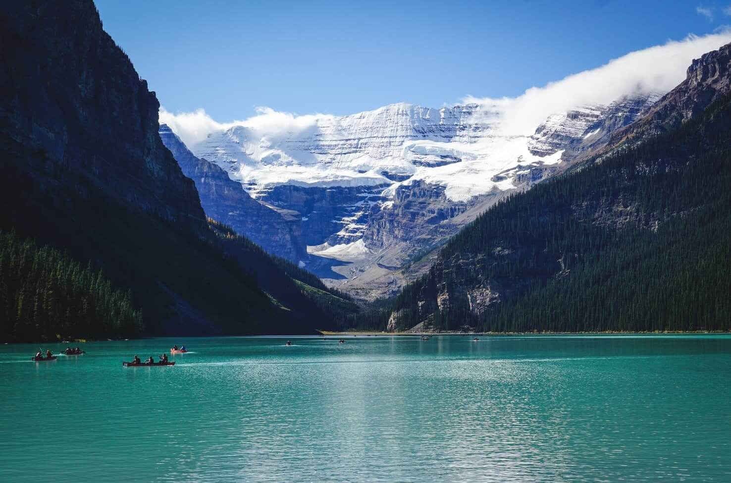 Canadian Rockies road trip itinerary - Lake Louise, Banff National Park