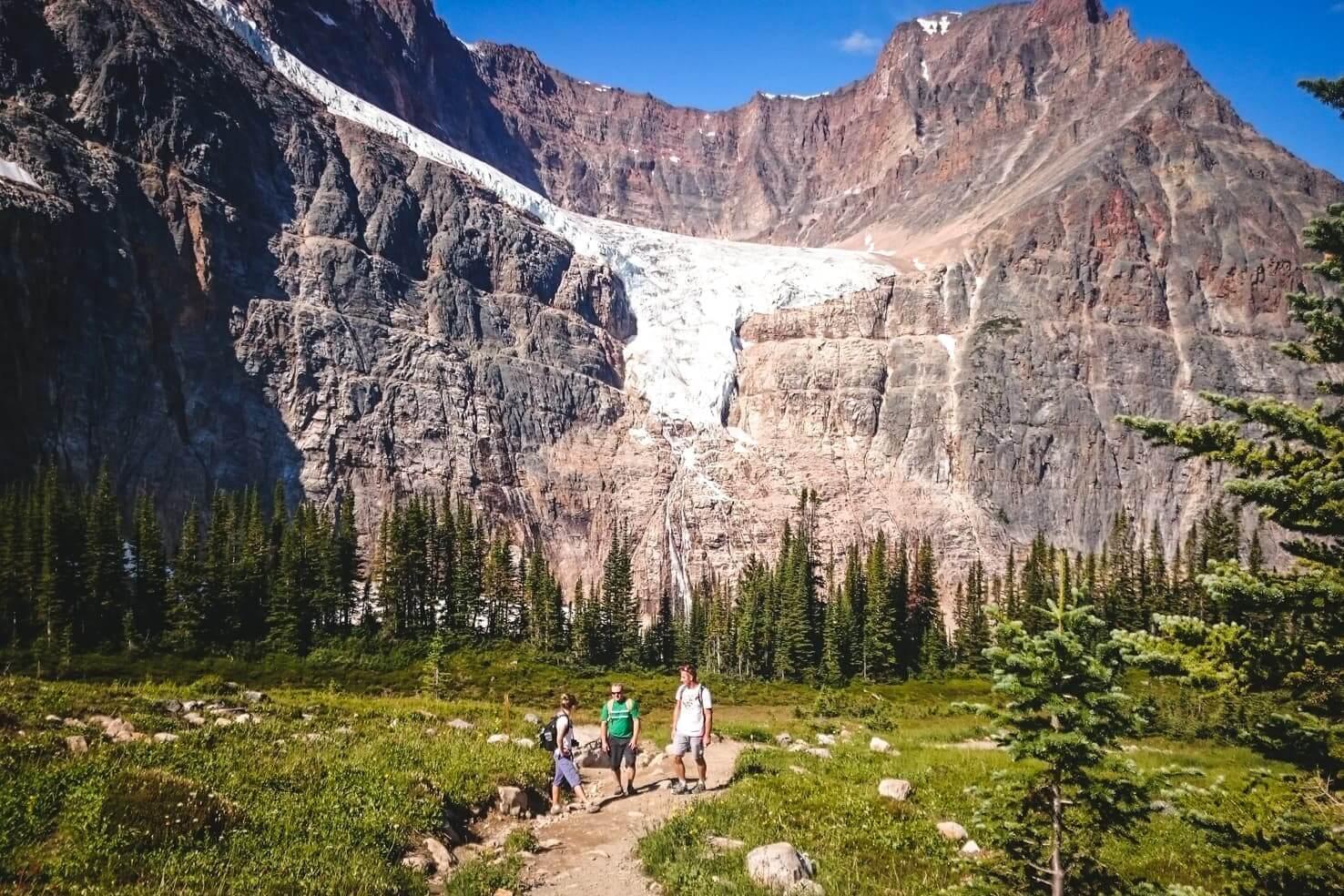 Canadian Rockies road trip itinerary - Mt. Edith Cavell Hike, Jasper National Park