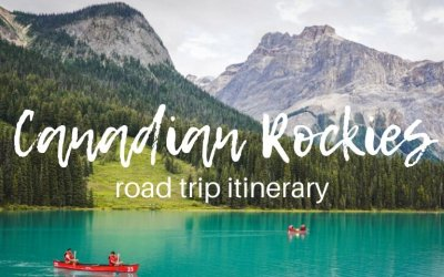 Canadian Rockies road trip itinerary: 5 national parks in 2 weeks