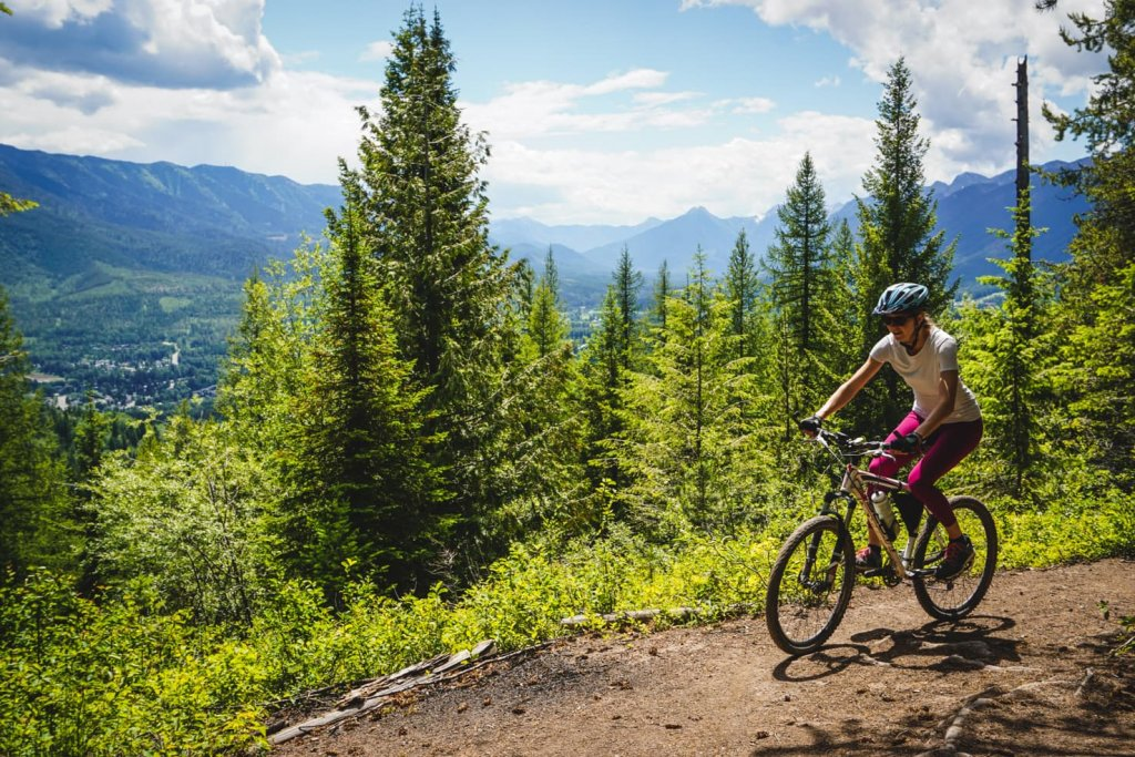 Things to do in Fernie, BC - 13 Mountain bike at Mount Fernie area-3