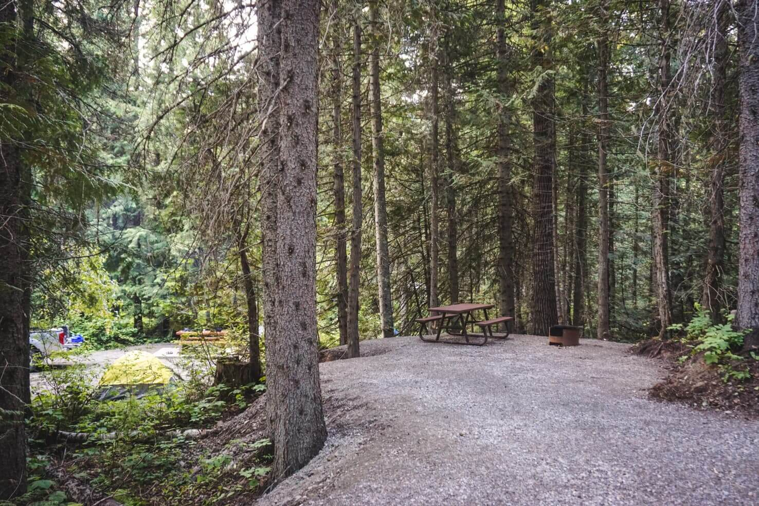 Things to do in Fernie, BC - 8 Stay overnight at Mount Fernie Provincial Campground
