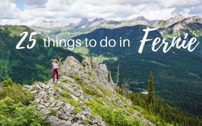 25 Amazing things to do in Fernie, British Columbia