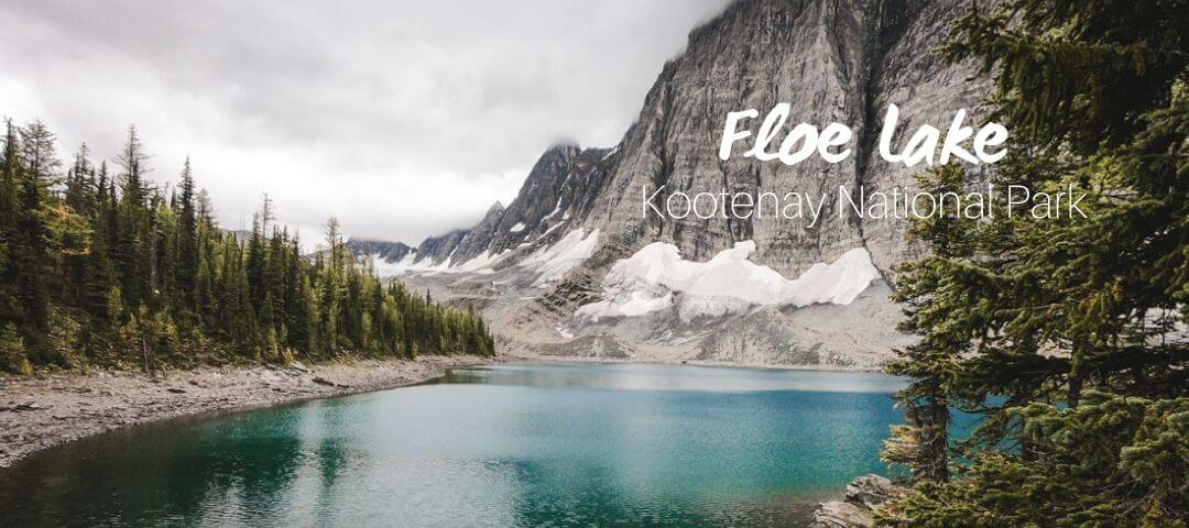 Floe Lake, a challenging trail in Kootenay National Park