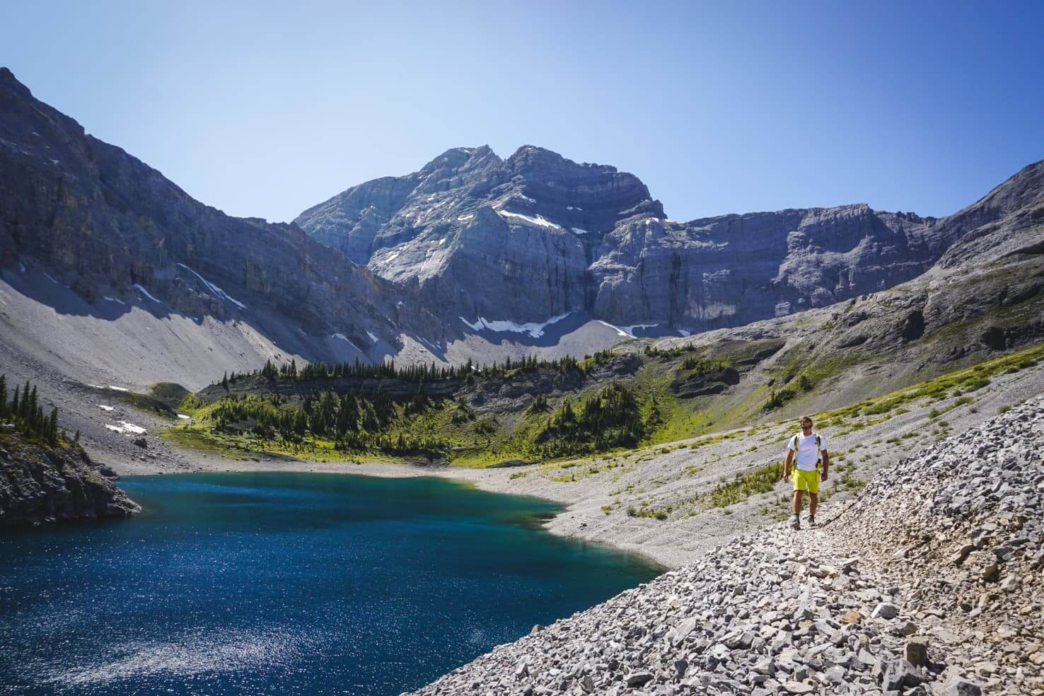 Galatea Lakes & Lillian Lake Hike, Kananaskis