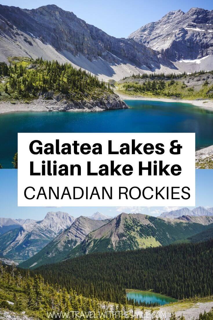 Galatea Lakes & Lillian Lake Hike PIN 1