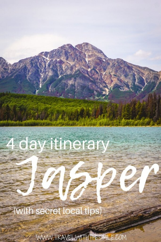 Jasper itinerary for 4 days