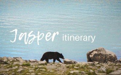 Jasper itinerary for 4 days