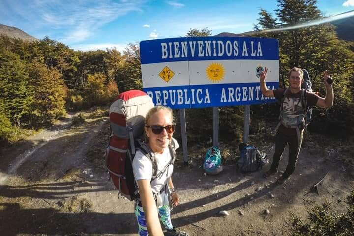 Chile - Argentina border crossing