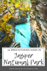 Hiking in Jasper National Park - 17 best hikes for all levels pin (7)