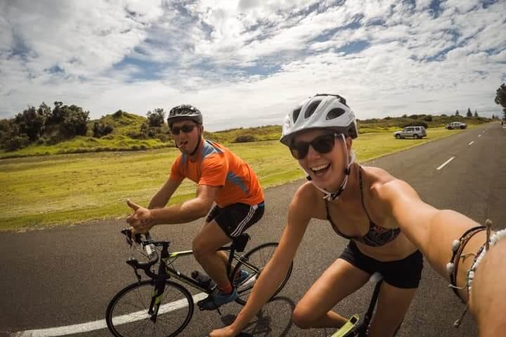 Triathlon in Whakatane, New Zealand