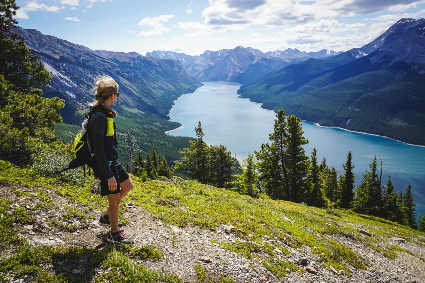 Banff on a budget - Aylmer Lookout above Lake Minnewanka