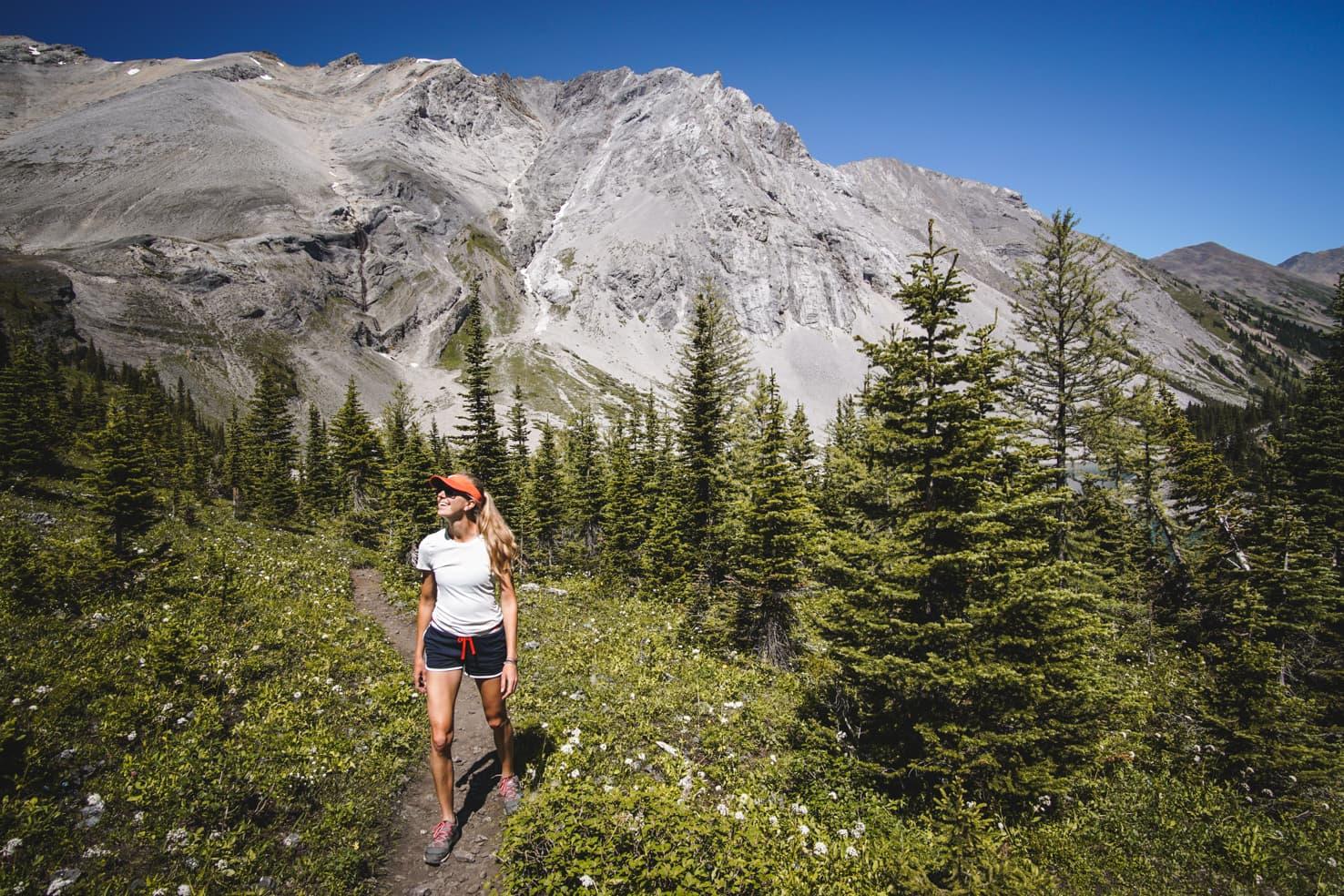 Banff Packing List - Galatea Lakes Hike in Kananaskis