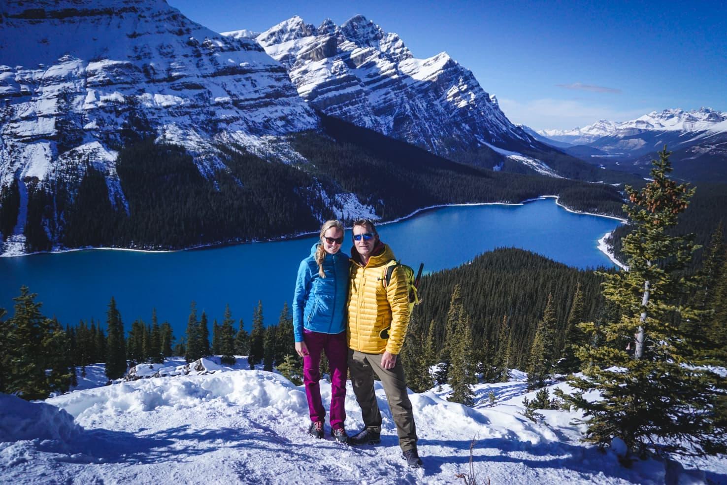 Banff on a budget - Peyto Lake in September