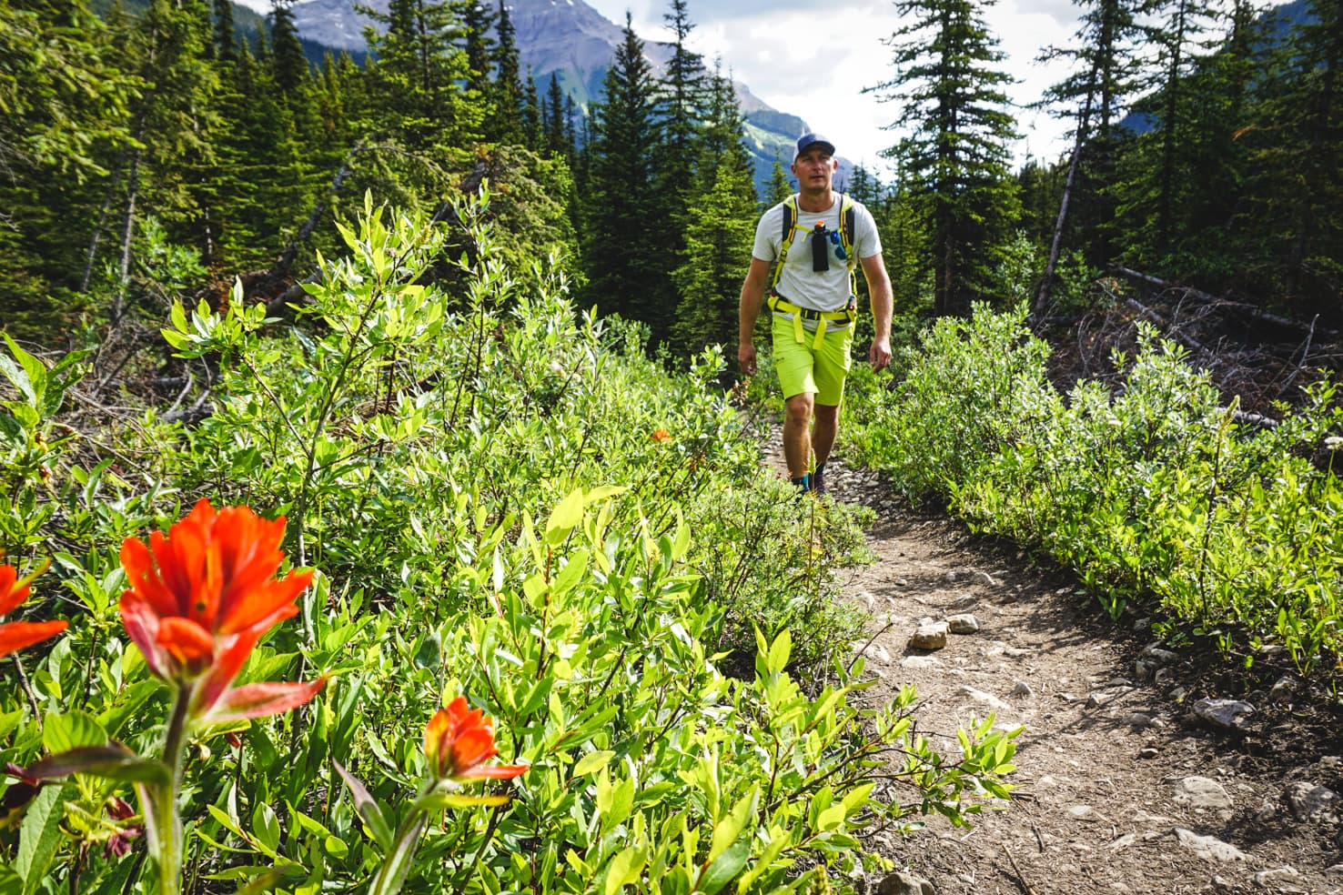 Banff Packing List - Healy Pass Hike in Banff National Park