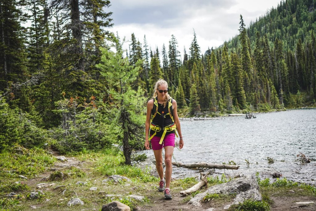Hiking packing list for summer in the mountains - Banff National Park, Canada