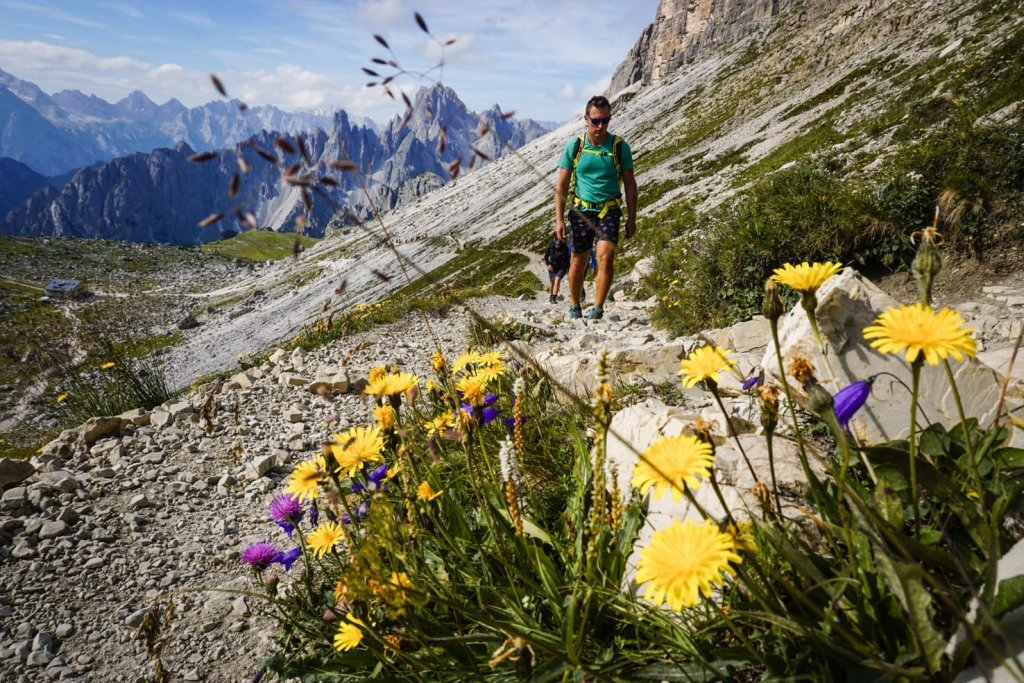 Hiking packing list for summer in the mountains - Tre Cime di Lavaredo, Italy-2