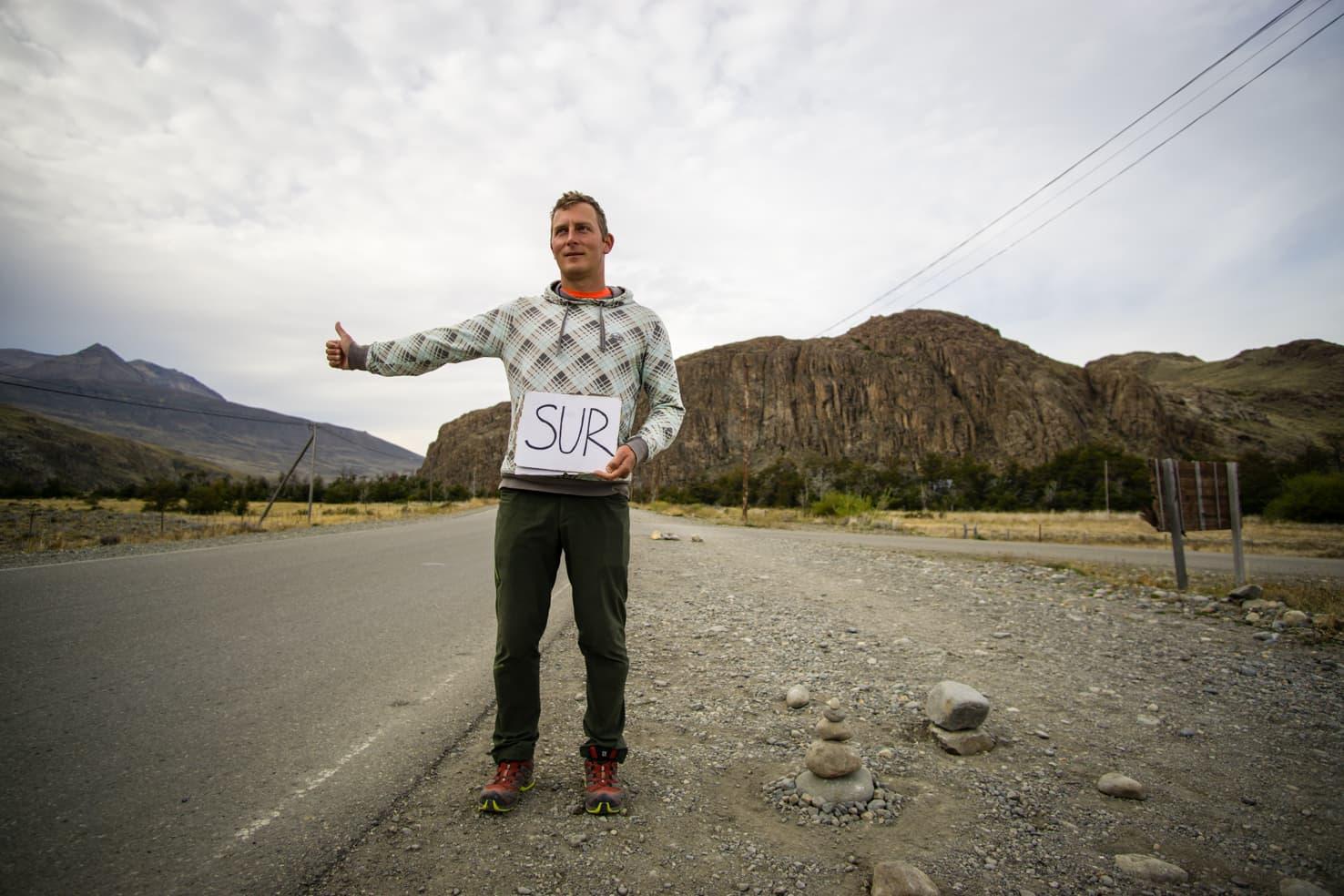 Hitchhiking in Patagonia