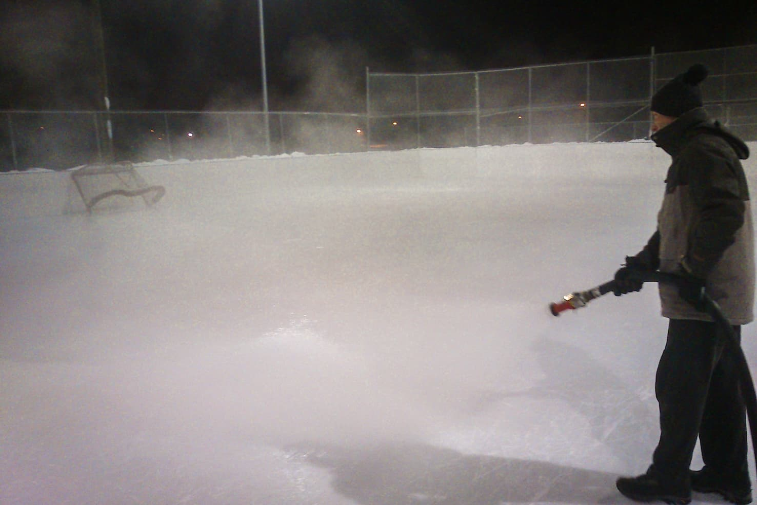 Outdoor Ice Skating in Calgary