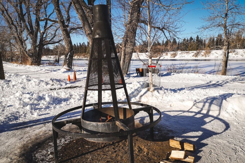 Outdoor Ice Skating in Calgary - Bowness Park