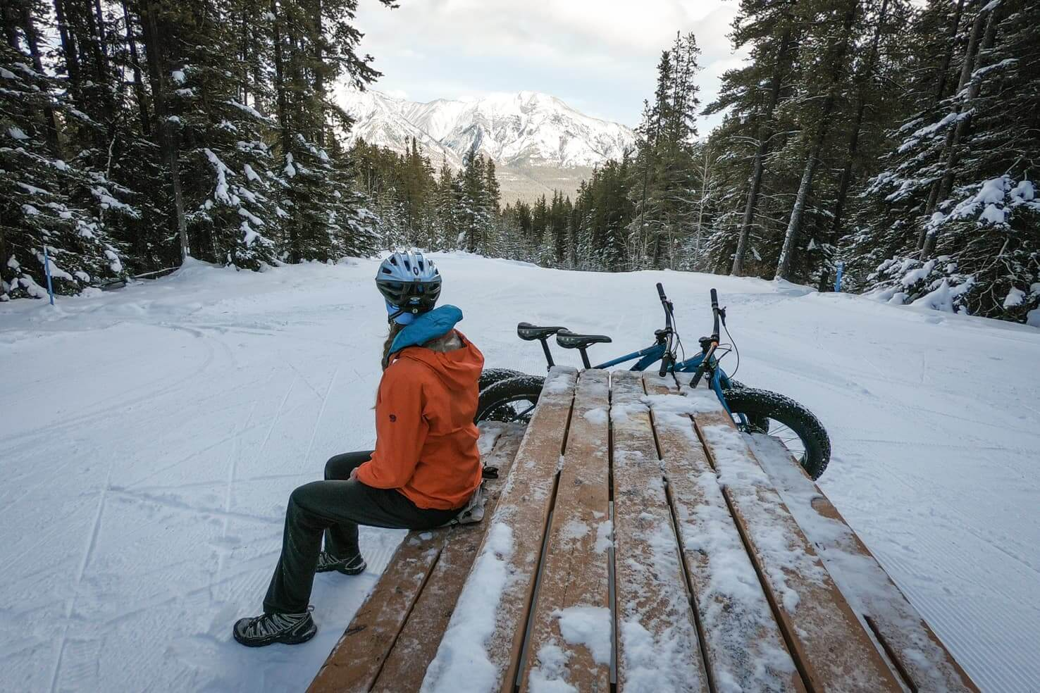 Fat Biking in Canmore