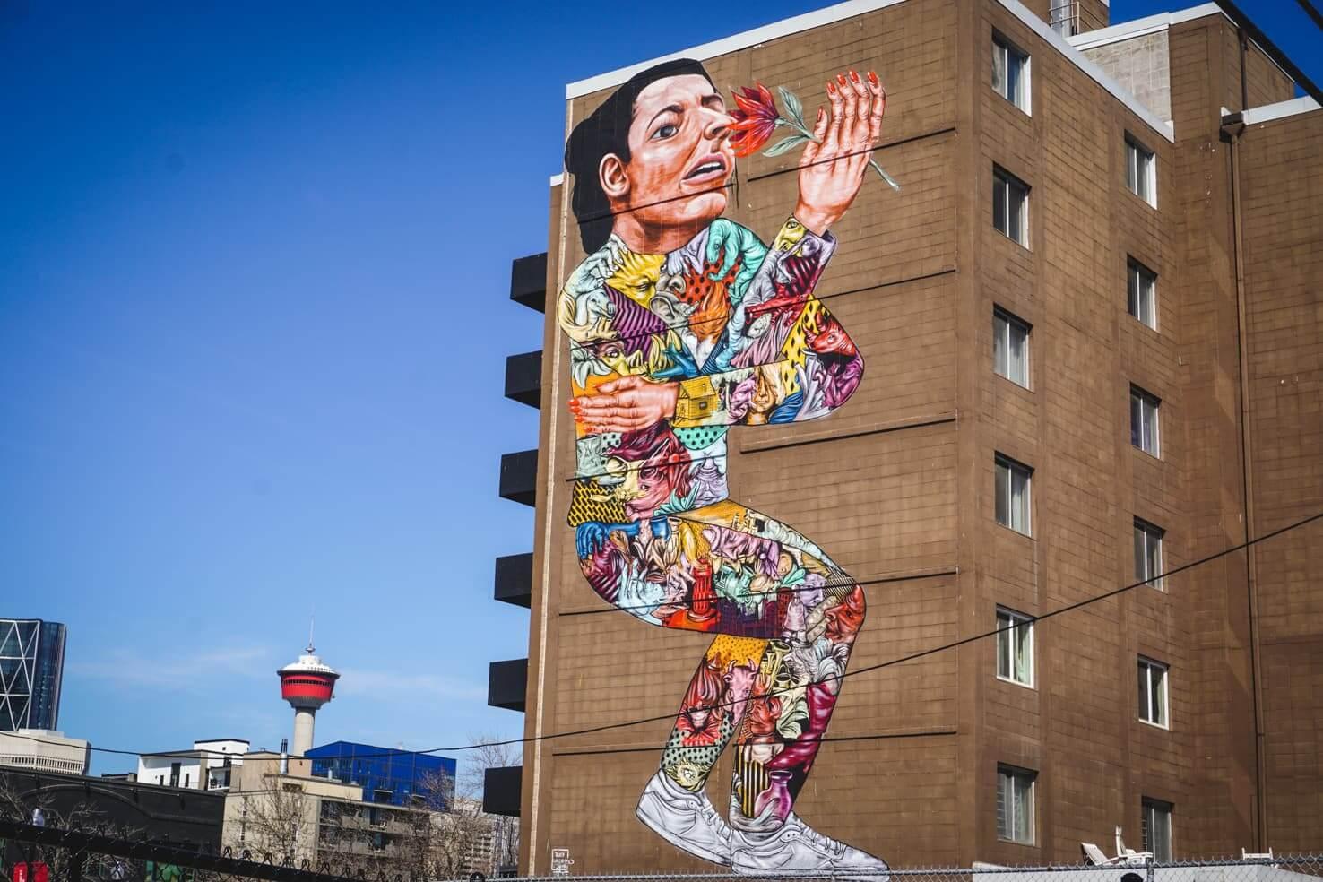 Murals in Calgary
