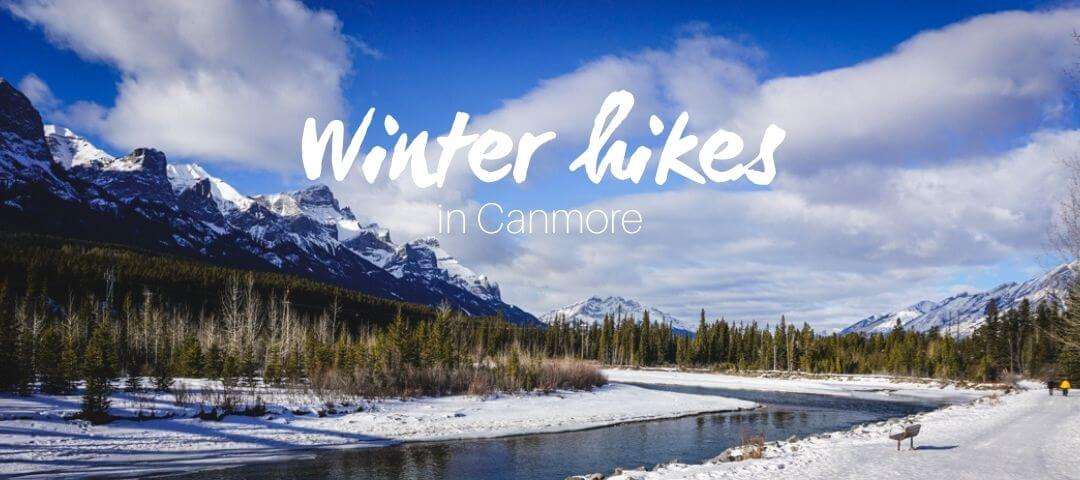 Winter hikes in Canmore