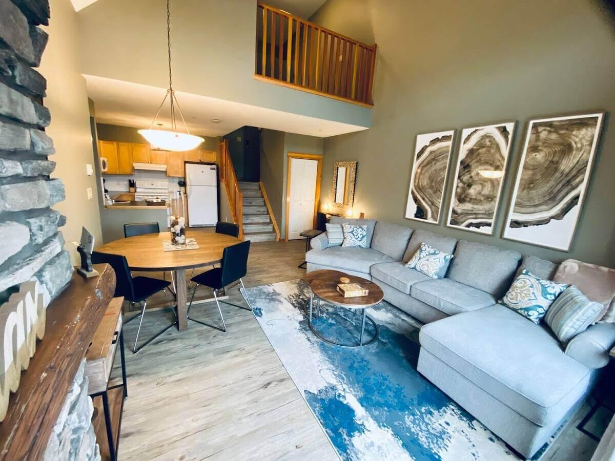 Cozy spacious condo for a family