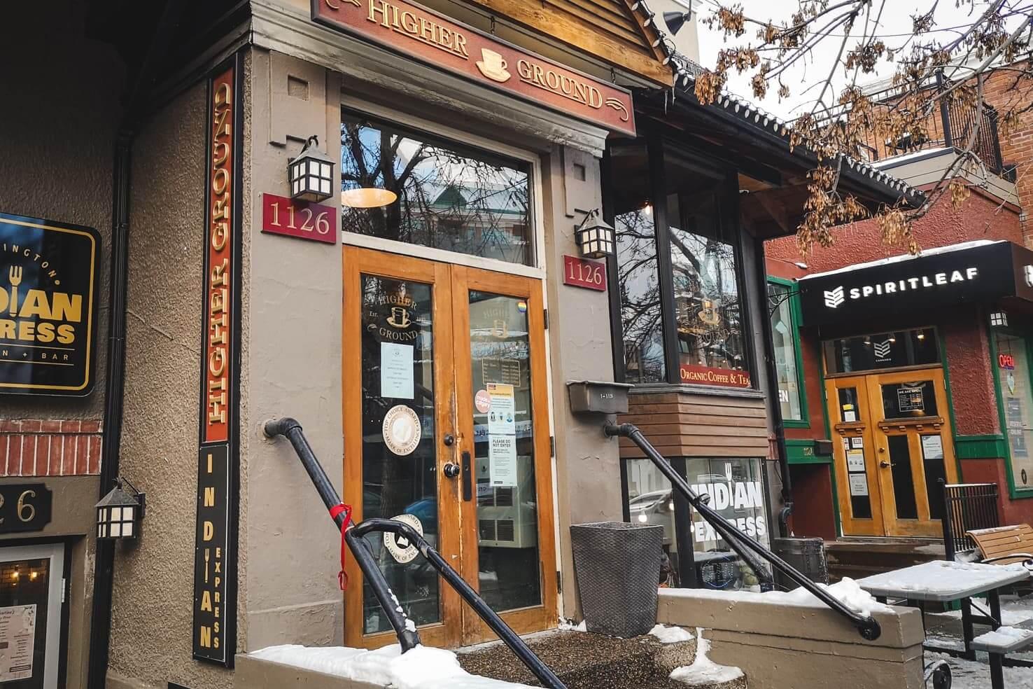 Higher Ground Café, Clgary
