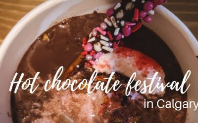 Honest Review Of 9 Drinks at Hot Chocolate Festival in Calgary