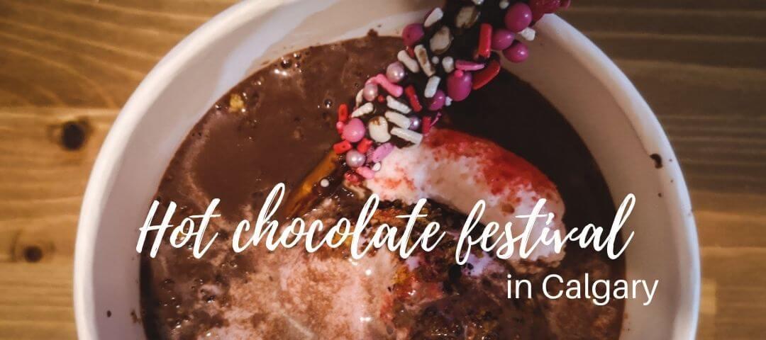 Hot chocolate festival in Calgary
